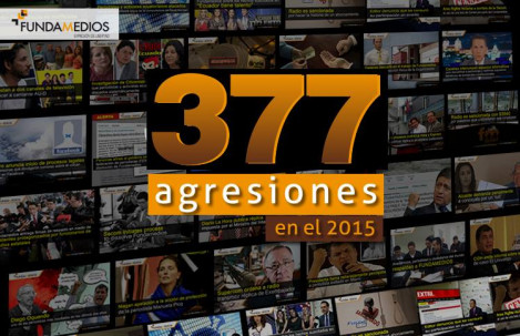 77c38c57c Con un récord negativo de 377 agresiones, 2015 cierra como el peor año para  la libertad de expresión en el Ecuador