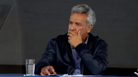 En una entrevista concedida al medio británico The Guardian, el presidente Lenín Moreno aseguró que Julian Assange intentó crear un centro de espionaje desde la embajada de Ecuador en Londres. Foto: El Comercio