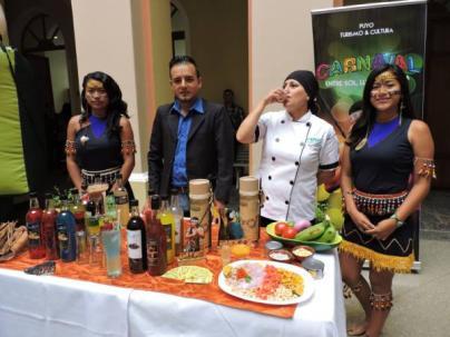 La gastronomía y las bebidas hechas con plantas propias de la Amazonía se podrán encontrar en los festejos. Foto: El Universo