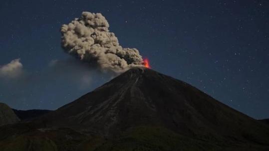 De 3.562 metros de altura, el Reventador es uno de los volcanes más activos de Ecuador. Foto: Expreso