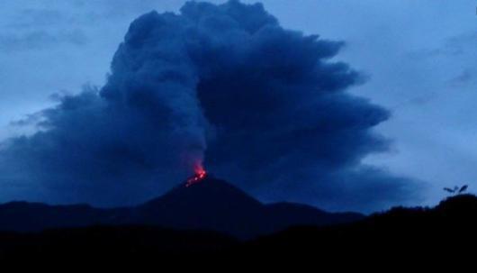 Volcán Reventador. Foto: La República