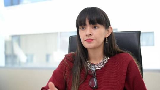 La quiteña de 27 años de edad, es abogada penalista de profesión. Foto: Expreso