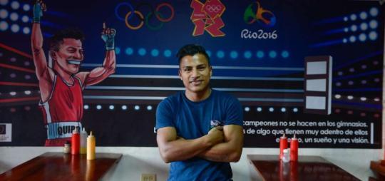Quipo consiguió un diploma olímpico en los Juegos de Río 2016, en la división de los 49 kilogramos. Foto: El Telégrafo