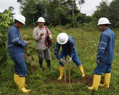 En el proyecto Mompiche (Esmeraldas) se hicieron 219 perforaciones. Foto: El Comercio