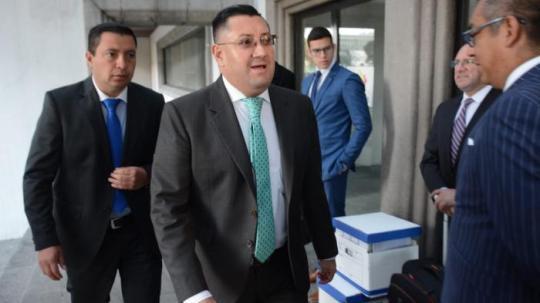 El juez Iván Saquicela es el ponente del tribunal de apelación del caso del exasambleísta Yofre Poma. Foto: Expreso