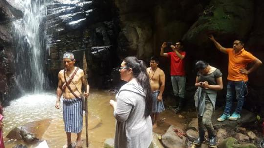 Tuntiak Nunké recibe un promedio de 10 turistas al mes.   Foto: El Comercio