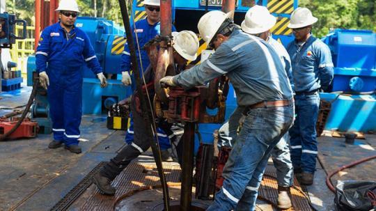 La producción en los bloques de Intracampos se proyecta en 18.000 barriles de petróleo al día, en promedio. Foto: EL TELÉGRAFO