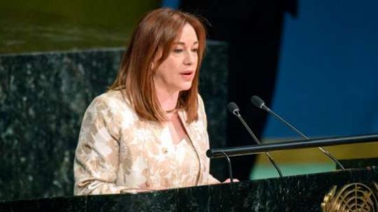 Excanciller. Se desempeña como presidenta de la Asamblea de la ONU. Foto: La Hora