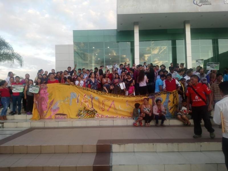 El caso ya ha unido a 13 comunidades kichwua de Pastaza que no permitirán la explotación. Foto: Ecuavisa