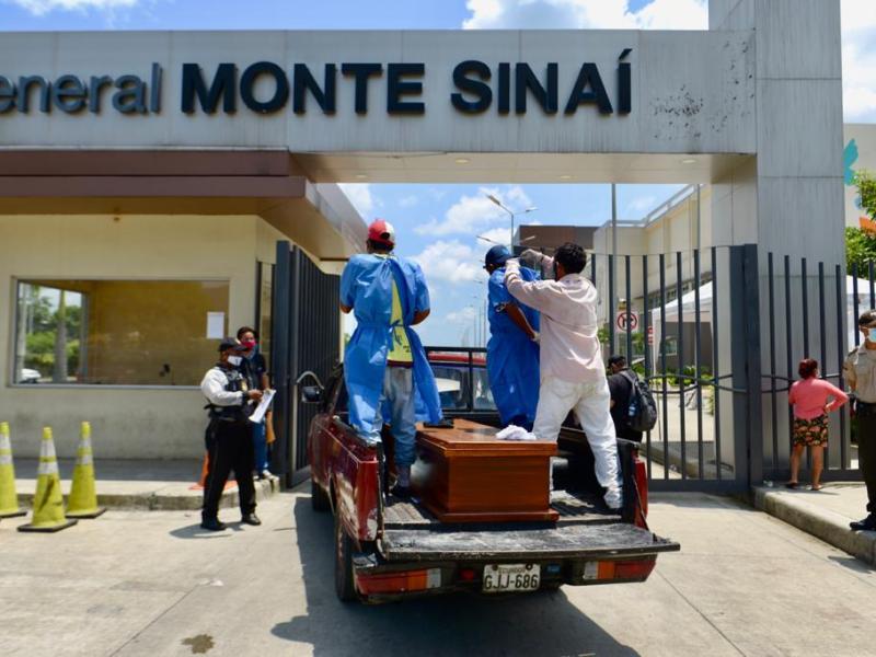 Guayaquil es la ciudad más azotada por el coronavirus en Ecuador. Foto: API