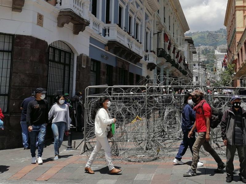 Ecuador se prepara para una jornada de protestas sociales / Foto: EFE