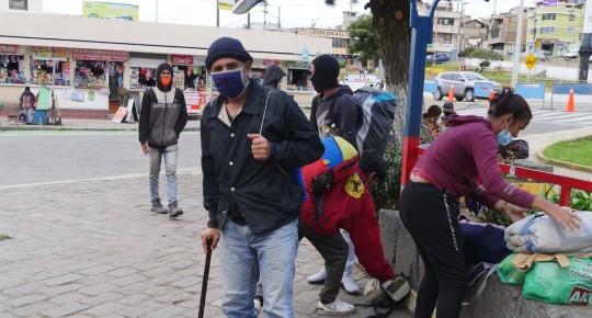 Proyecto apoyará integración de venezolanos en frontera colombo-ecuatoriana / Foto EFE