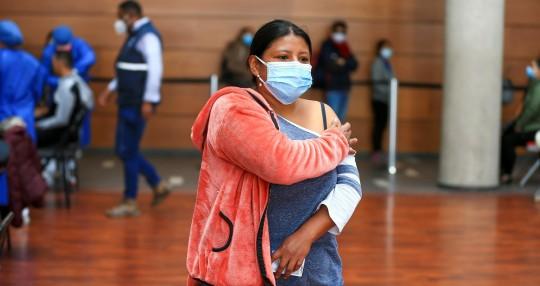 Ecuador suma 374 nuevos casos de covid-19 y acumula 504.257 positivos / Foto: EFE