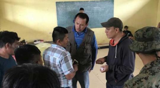 Los retenidos permanecieron hasta el domingo 6 de mayo del 2018 en la casa comunal del poblado shuar de Tayunts. Foto: El Comercio