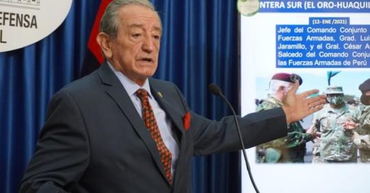 Ecuador propondrá un protocolo de reapertura de fronteras a Perú y Colombia / Foto: Ministerio de Defensa