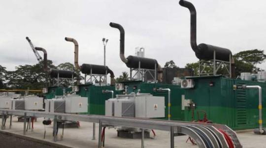 Sacha cuenta con tres generadores de energía eléctrica que funcionan con gas asociado, que antes se quemaba. Foto: El Comercio