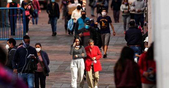 """El 89,5 % de ecuatorianos cree que el país va por """"mal camino"""", según sondeo / Foto: EFE"""