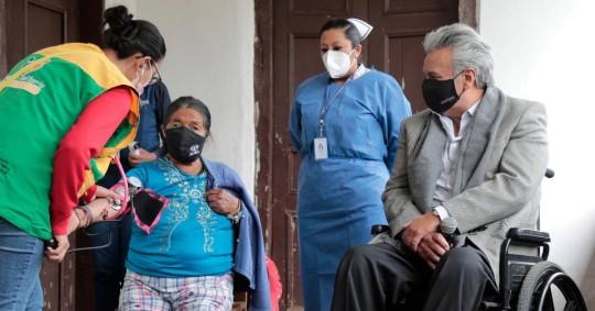 Lenín Moreno advierte de deserción del 40% en etapa de vacunación / Foto: Cortesía de la Presidencia