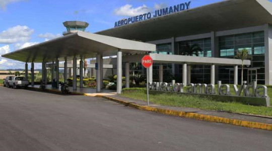 Según la DAC, la terminal tiene una capacidad para recibir a cuatro aeronaves. Foto: EL COMERCIO