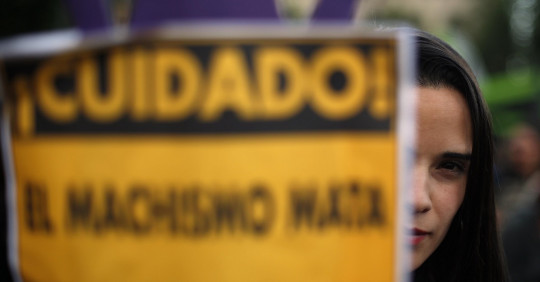 Ecuador registra 81 femicidios en lo que va de 2020, incluidas 11 menores. Foto: EFE