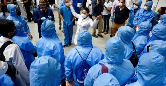 Pandemia muestra la necesidad de transformar el sistema de salud en Ecuador / Foto: EFE