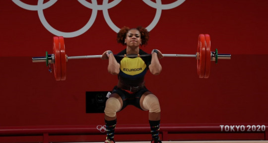 Angie Palacios logró el primer Diploma Olímpico para Ecuador / Foto: cortesía del Comité Olímpico Ecuatoriano