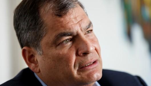 """Expresidente Correa dice que están """"inflando"""" los votos de Yaku Pérez / Foto EFE"""