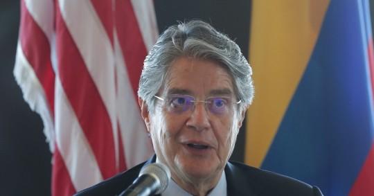Lasso expone en Nueva York su visión para impulsar la economía de Ecuador / Foto: EFE