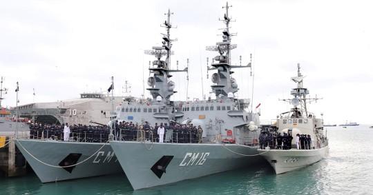 Ecuador destaca la cooperación internacional para tener mares seguros / Foto: EFE
