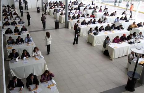 El examen escrito es uno de los componentes más importantes del proceso de selección. Foto: La Hora