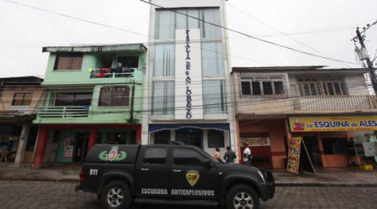 En las oficinas fiscales de San Lorenzo se implementaron más seguridades para evitar posibles atentados. Foto: El Comercio