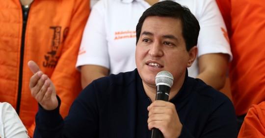 Andrés Arauz: no vamos a cumplir las condiciones pactadas con el FMI / Foto: EFE