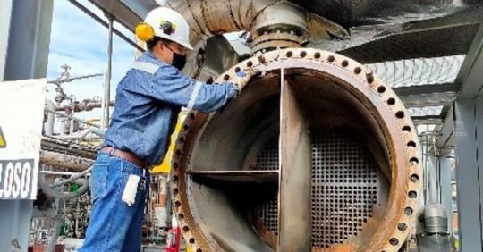 El mantenimiento en la Planta de Gas Shushufindi concluyó / Cortesía de Petroecuador