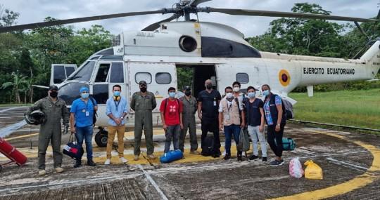 """Ecuador desplegará el """"plan Fénix"""" para vacunar en zonas de difícil acceso / Foto: cortesía Ministerio de Salud"""