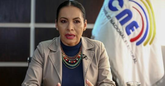 Elecciones: TCE suspende a presidenta y consejeros del CNE / Foto: EFE