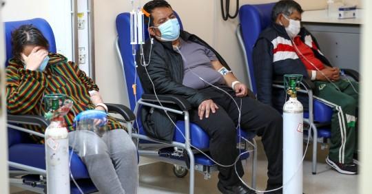 Ecuador reporta 955 nuevos contagios de covid-19 y acumula 503.101 positivos / Foto: EFE