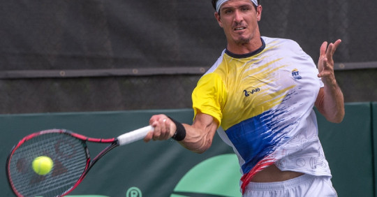 Emilio Gómez ganó el Challenger de Salinas / Foto: EFE