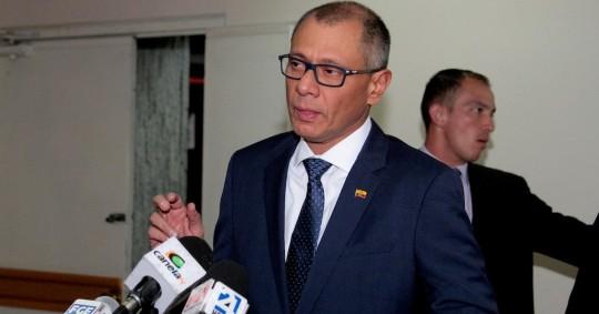 Caso Singue: Nueva condena por corrupción contra Jorge Glas / foto EFE