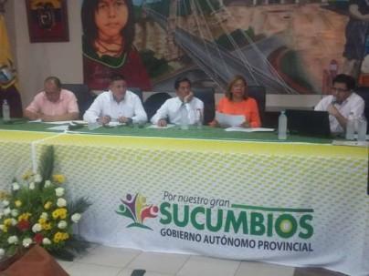Los prefectos de la Mancomunidad del Norte del Ecuador, organizarán una marcha por la paz en las cuatro provincias, el 26 de abril. Foto: La Hora