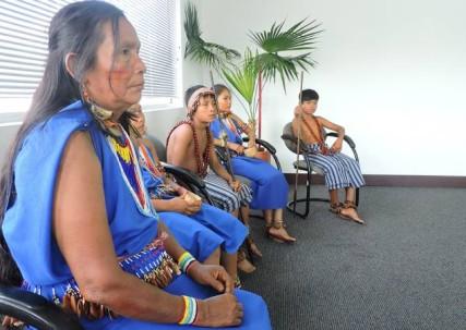 La etnia shuar representa el 35% de la población del cantón Santiago de Méndez, en Morona Santiago. Foto: El Universo