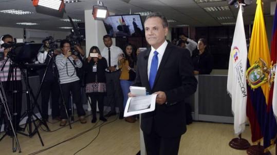 El último en ser incorporado a esa lista fue Carlos Ochoa, exsuperintendente de Comunicación. Foto: Expreso