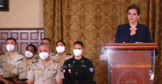 Pleno de Asamblea recibe petición de juicio político a María Paula Romo / Foto: EFE