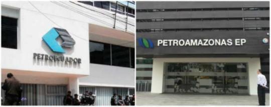 EMPRESAS. Petroecuador y Petroamazonas entrarán en proceso de unirse, pero antes deben resolver inconvenientes. Foto: La Hora
