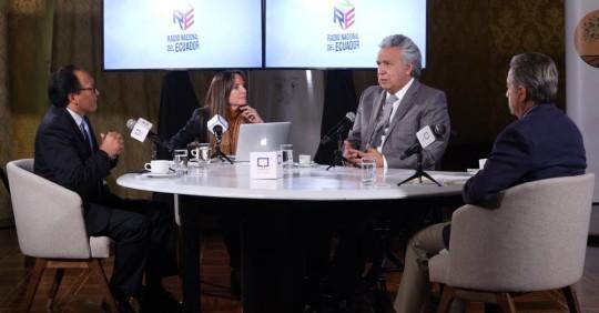 Lenín Moreno viajará a EEUU para gestionar más vacunas anticovid  / Foto: Presidencia de la República
