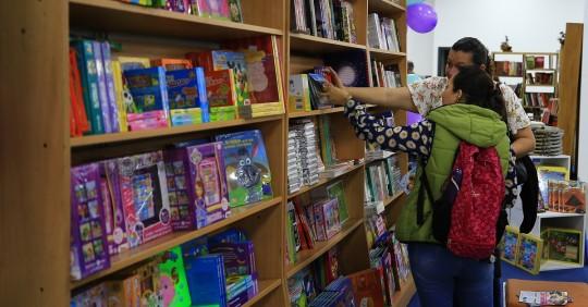 La Feria Internacional del Libro de Quito 2020 acaba con un balance positivo / Foto: EFE