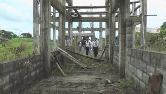 La infraestructura debía ser inaugurada en noviembre de 2014, según autoridades. Foto: Ecuavisa