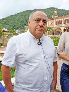 Invitación. Aparicio Sanmartín invita a los actores políticos a participar. Foto: La Hora