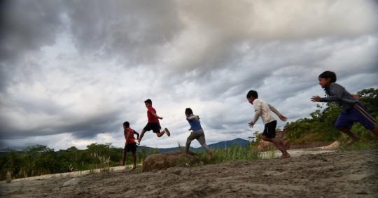 Comunidad A'i Cofan Sinangoe solicita una nueva escuela / Foto: cortesía Cofanes Sinangoe
