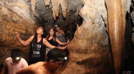 Las cavernas de Jumandi, es el mayor atractivo natural de Archidona. Foto: El Comercio