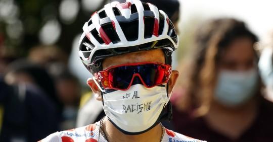 """Richard Carapaz: """"Estoy muy motivado y tenemos un gran equipo"""" / Foto: EFE"""